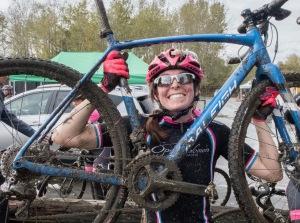 Muddy bike!